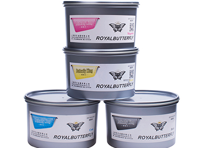 Model ROYAL BUTTERFLY  sheet-fed offset printing ink